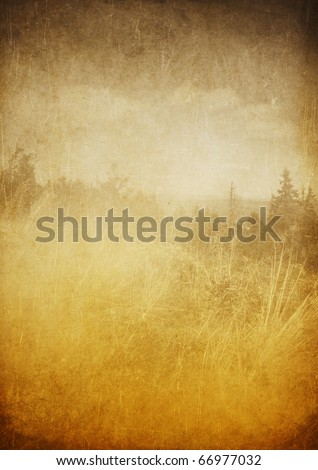Nature grunge background - stock photo