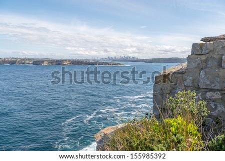 Nature Landscape Sydney Australia - stock photo