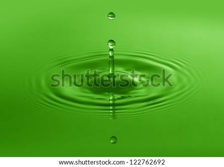nature water - stock photo