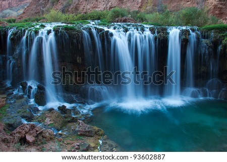 Navajo Falls - stock photo