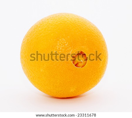 Navel Orange - stock photo