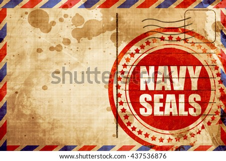 navy seals - stock photo