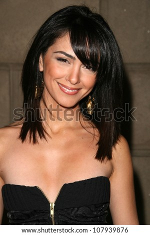 Nazanin Boniadi  at the Summer Stars Party hosted by InTouch Weekly and ISH. Social Hollywood, Hollywood, CA. 05-22-08 - stock photo