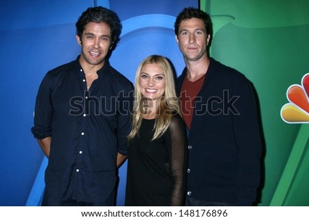 Neal bledsoe stock images royalty free images vectors neal bledsoe spencer grammer and pablo schreiber at the nbc press tour beverly hilton sciox Gallery