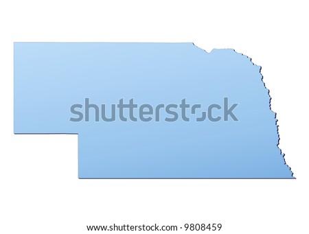 Nebraska Map Stock Images RoyaltyFree Images Vectors - Usa map nebraska