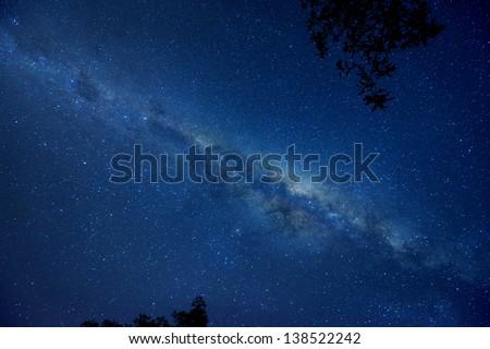 Nebula Star SKY - stock photo