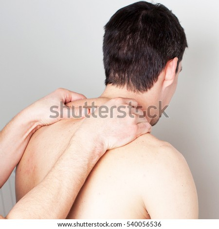 Neck massage and medical treatment
