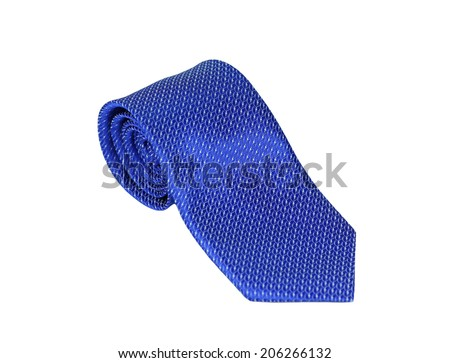 Neck tie isolate on white background