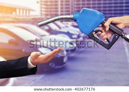 need car oil concept background - stock photo