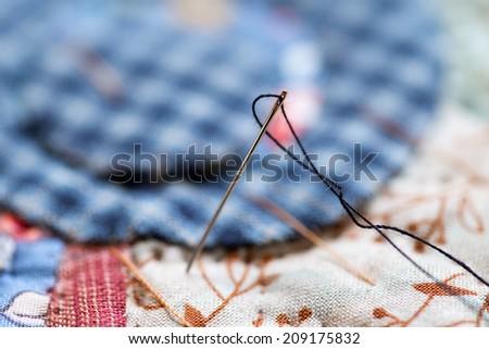 Needle - stock photo