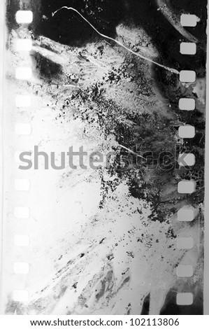 negative film strip grunge - stock photo