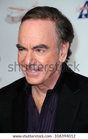 Neil Diamond  at the 2009 Musicares Person of the Year Gala. Los Angeles Convention Center, Los Angeles, CA. 02-06-09