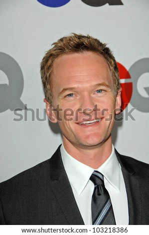Neil Patrick Harris at the GQ Men of the Year Party, Chateau Marmont, Los Angeles, CA. 11-18-09