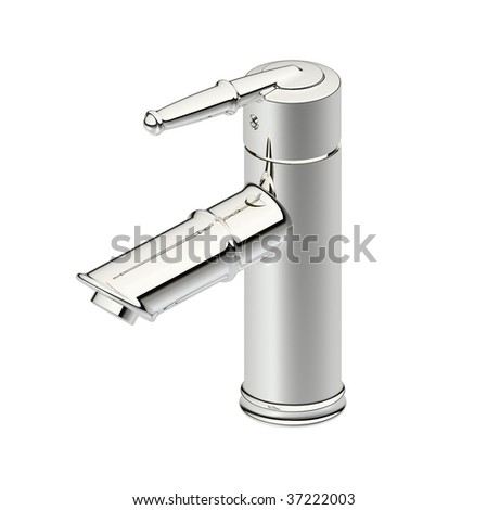 Neoclassic faucet â??â??concept design - stock photo