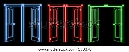 neon enter & Neon Door Stock Illustration 157650 - Shutterstock Pezcame.Com