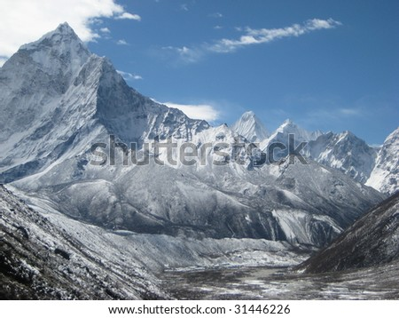 Nepal - Everest - stock photo