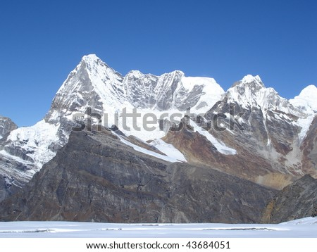 Nepal Himalaya - stock photo
