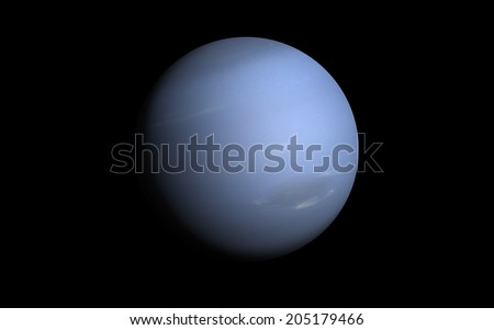 "Neptune planet ""Elements of this image furnished by NASA"" - stock photo"