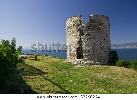 Nesebar tower