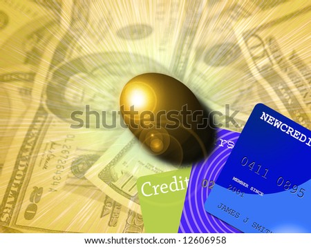 Nest egg - Security - stock photo