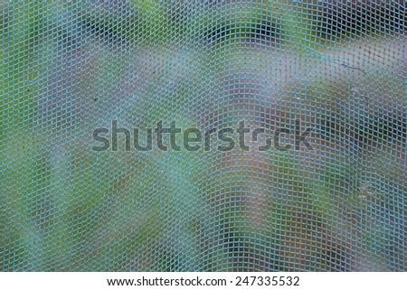 Net closeup - stock photo