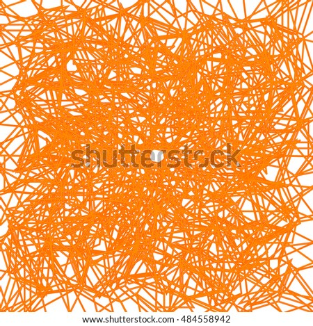net orange lines pattern
