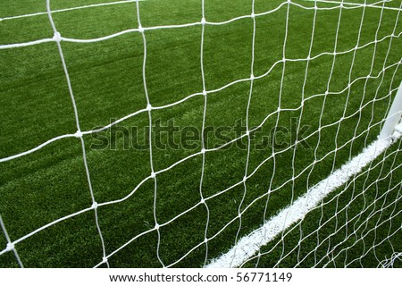Net soccer - stock photo