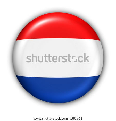 Netherlands Flag Button