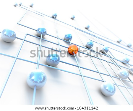Network and internet concept - stock photo