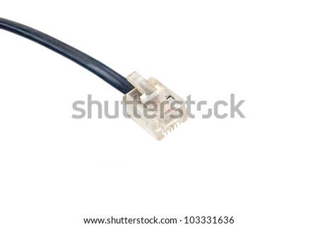 Network Cable - stock photo
