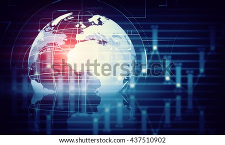 Network community concept - stock photo