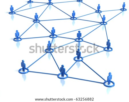 Network human connections
