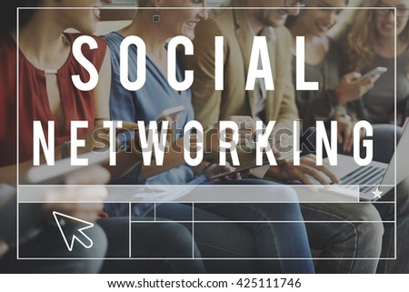 Network Networking Social Online Communication Concept