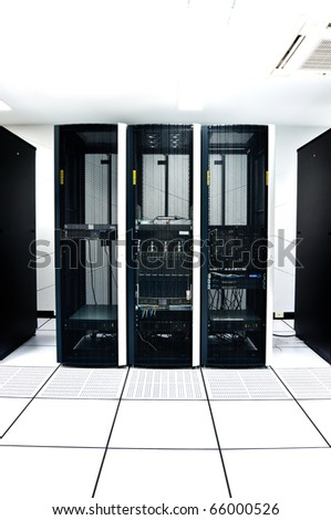 Network Server or data room - stock photo