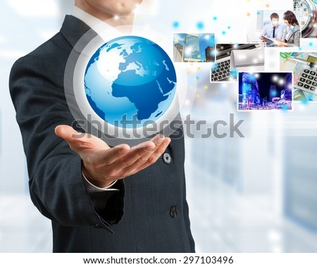 Networking, concept, us. - stock photo