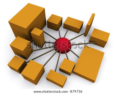 networking 2 (part of a series) - stock photo