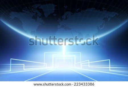 Networks - stock photo