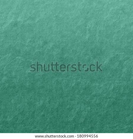 Neutral Green Canvas Background Texture With Rough Emerald Stone Plaster Pattern  - stock photo