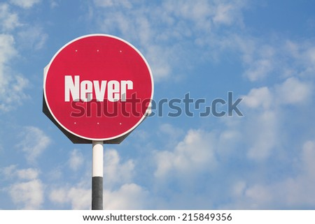 Never Sign