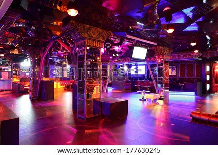 how to clean a night club