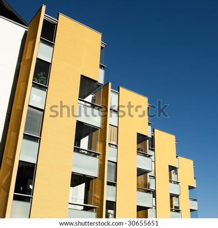 New apartment house - stock photo