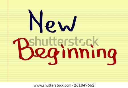 New Beginning Concept - stock photo