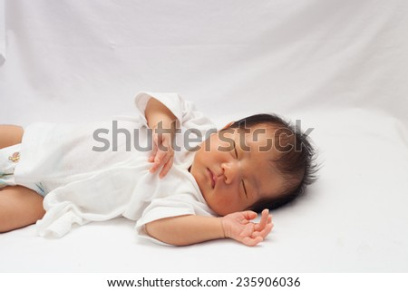 new born - stock photo