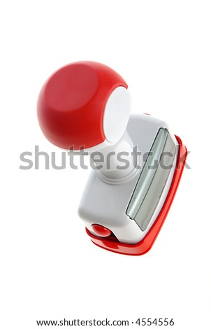 new design automatic stamp - stock photo
