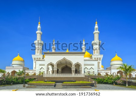 New grand mosque in Cotobato, Southern Philippines