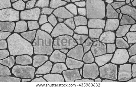 new gray  stone wall background