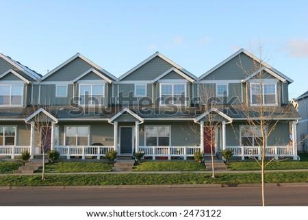 New Homes - stock photo