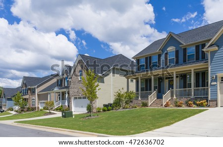 New homes in North Carolina