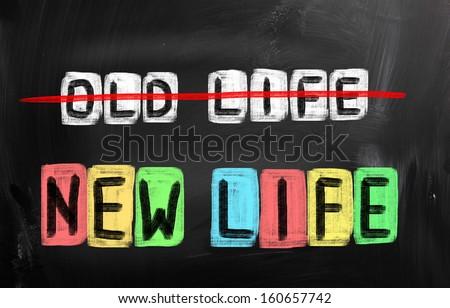 New Life Concept - stock photo
