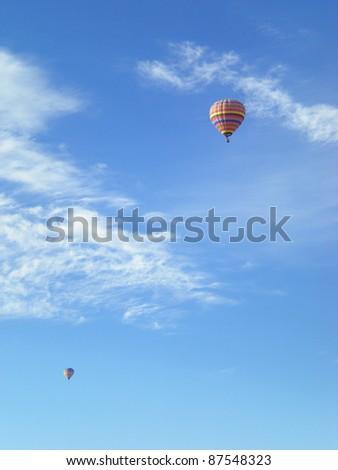 New Mexico Balloon - stock photo